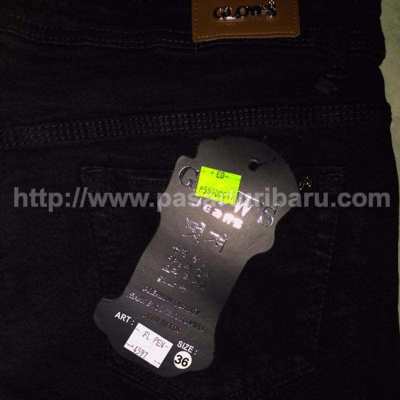 Celana Jeans Glows Stretch Big size 31-36